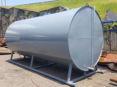 Cylinder Skid Tank Diesel Supplier